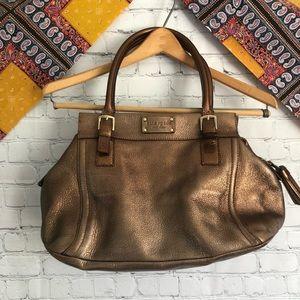 Kate spade bronze purse
